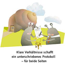 Mietrecht Auszug Wohnungsübergabe wohnungsübergabe klare trennungsvereinbarungen berliner
