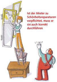 Schönheitsreparaturen Erst Rat Dann Tat Berliner Mieterverein Ev