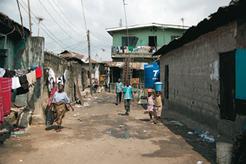 Township in Lagos/Nigeria