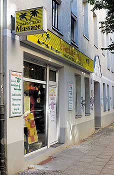 Massagebetrieb in Prenzlauer Berg