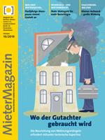 Titel des MieterMagazin Oktober 2019