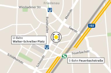 Karte Walther-Schreiber-Platz