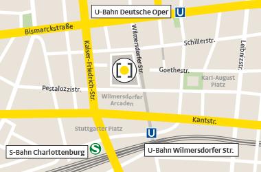Karte Wilmersdorfer Straße