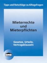 DMB-Broschüre Mieterrechte und Mieterpflichten