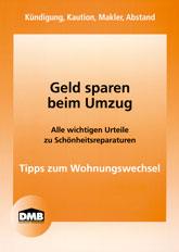 DMB-Broschüre Geld sparen beim Umzug - Tipps zum Wohnungswechsel