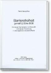 DMB-Fachliteratur: Barrierefreiheit gemäß § 554 a BGB