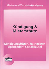 DMB-Broschüre Kündigung und Mieterschutz