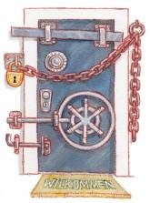 Illustration von Lisa Smith: Wer ein erhöhtes Sicherheitsbedürfnis hat, muss die Einbauten mit seinem Vermieter absprechen
