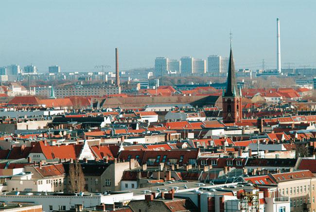 Panorama: Über den Dächern von Berlin