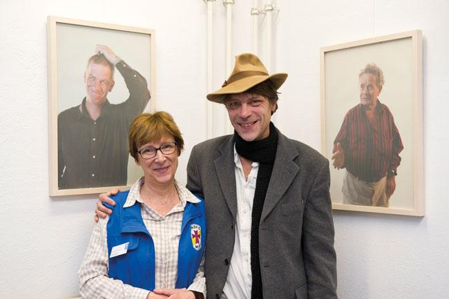 Horst und Ursula Czaika von der Bahnhofsmission