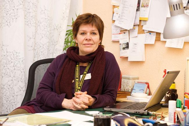 """Claudia Peiler ist Leiterin von """"Evas Haltestelle"""""""