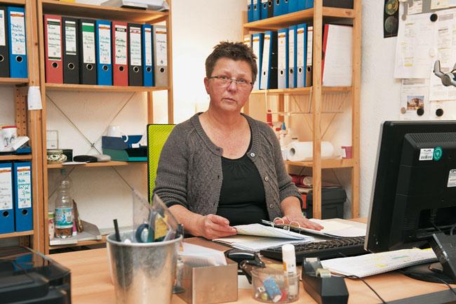 Eva-Maria Heise, Leiterin der Notübernachtung im Bezirk Mitte