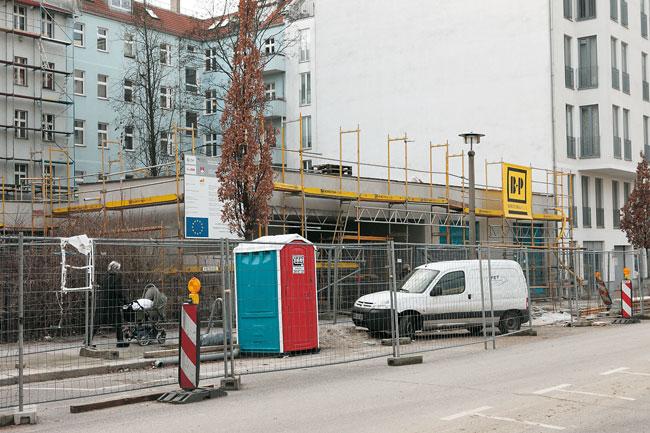 Neubau einer Jugendfreizeiteinrichtung in der Pasteurstraße
