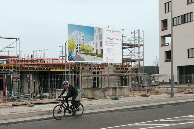 Genossenschaftsbaustellen am Groß-Berliner Damm
