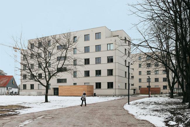 Genossenschaftsbaustellen in der Dresdener Straße