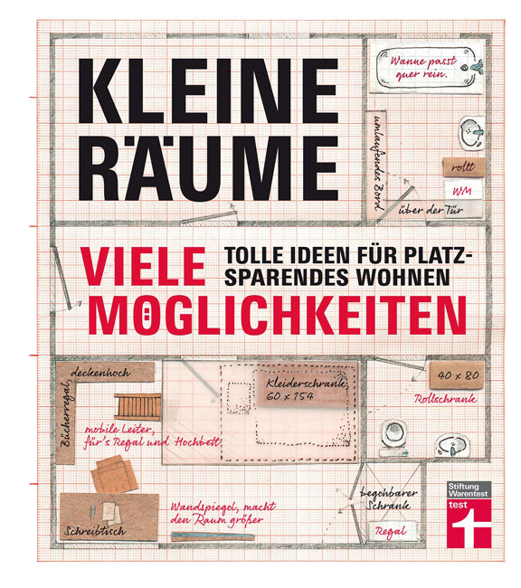 buchtipp gro e ideen f r kleine r ume berliner mieterverein e v. Black Bedroom Furniture Sets. Home Design Ideas
