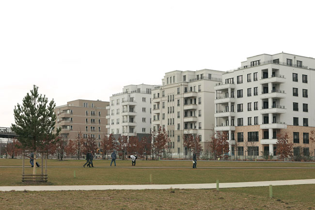 Baustelle in der Flottwellstraße