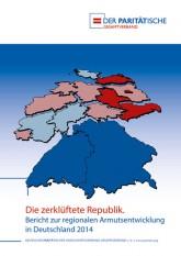 Titelseite des Armutsberichts des Paritätischen Gesamtverbandes