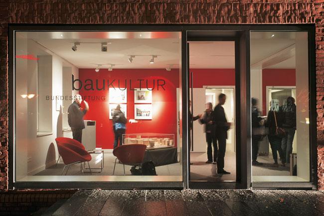 Schaufenster der Bundesstiftung Baukultur