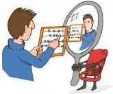 Illustration: Mieter rechnet seine Miete im Spiegel der Mietpreisbremse nach