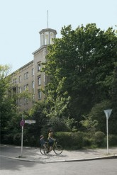 Gebäude an der Weberwiese in Friedrichshain