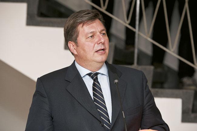 Bausenator Andreas Geisel