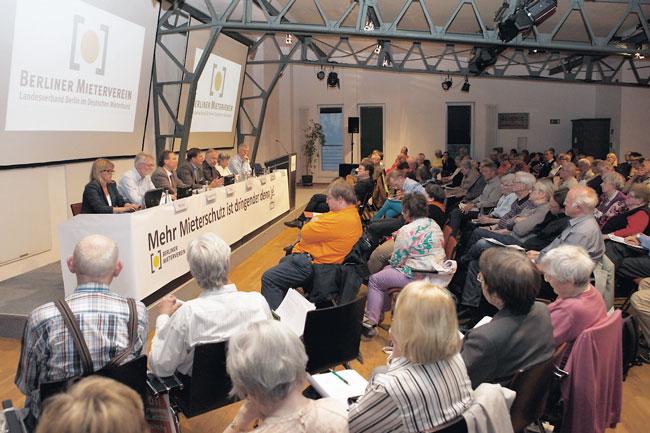 Delegiertenversammlung des Berliner Mietervereins