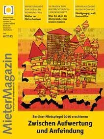 Titelseite MieterMagazin 6/2015