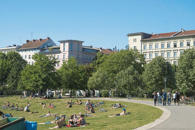 Görlitzer Park und Wrangelkiez