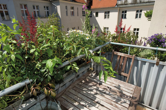 Nachträglich angebauter Balkon