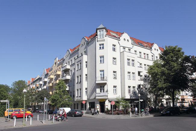 Eckhaus Sprengelstraße im in Aussicht gestellten Milieuschutzgebiet Leopoldplatz