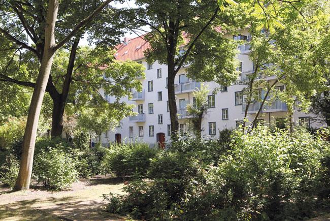 Die Grüne Stadt in Prenzlauer Berg