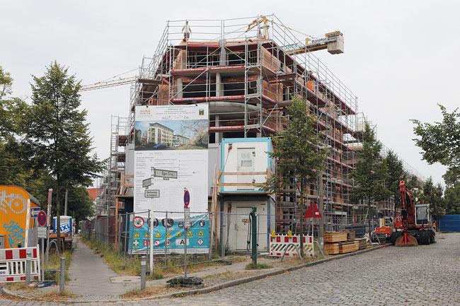 Genossenschafts-Neubauvorhaben in Karlshorst