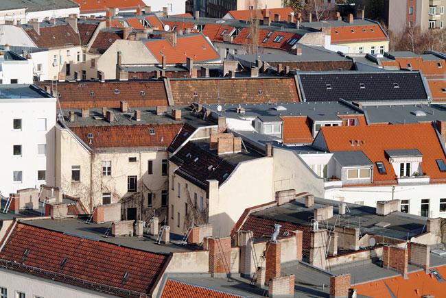Blick über Berliner Dächer