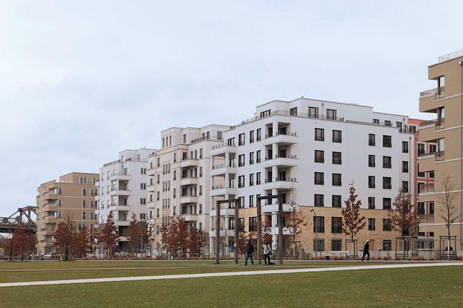 Neubauten in der Innenstadt