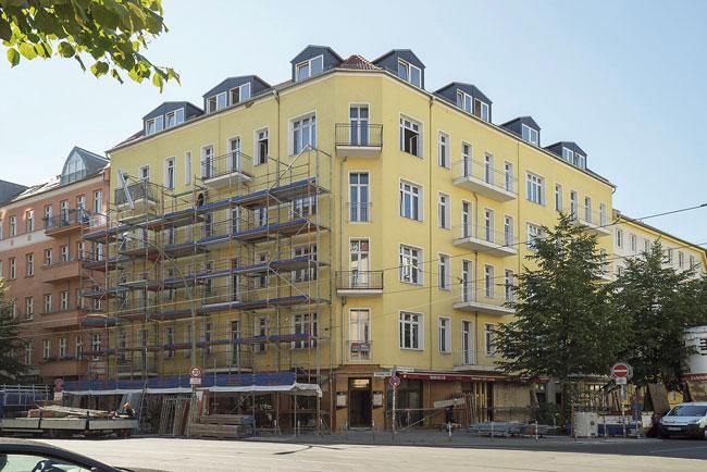 Das Gebäide das Gebäude Boxhagener Straße 26