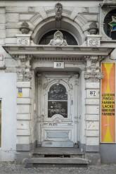 Eingangsportal zum 'Horrorhaus' Grunewaldstraße 87