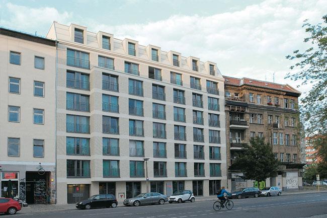 Studentenwohnheim 'The Fizz' in der Köpenicker Straße