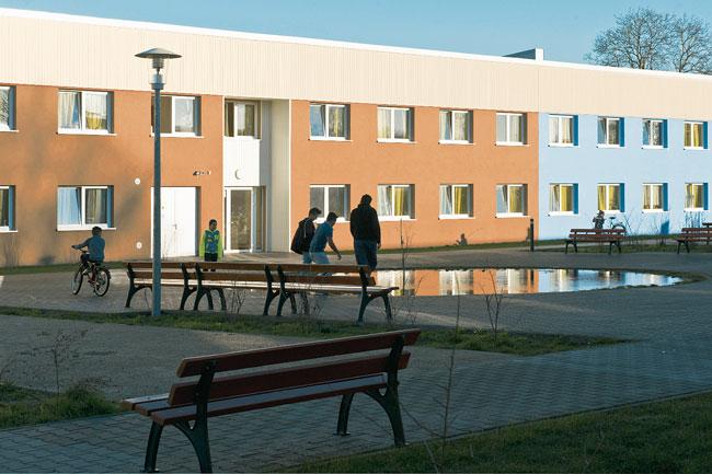 Aufnahmeheim für Flüchtlinge in der Haarlemer Straße