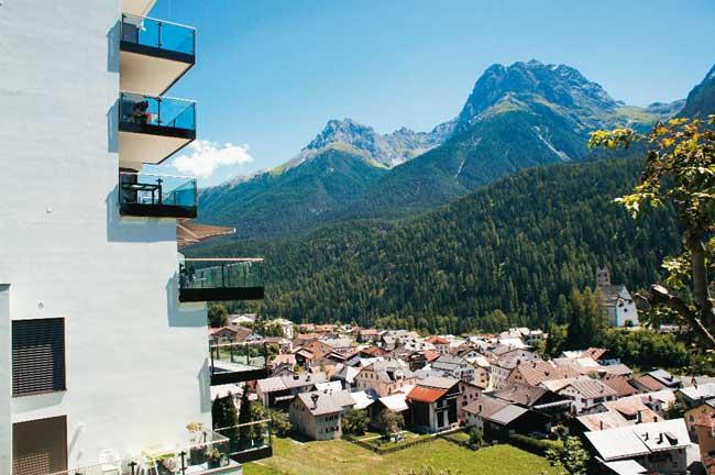 Schweizer Alpendorf