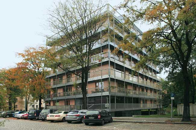 Neubau in der Kreuzberger Ritterstraße 50