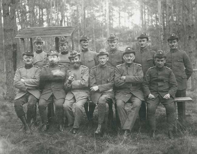 Forst in Friedrichshagen 1925