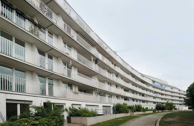 Wohngebäude im Fanny-Hensel-Kiez