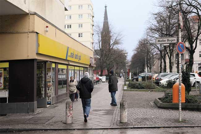 Meller Bogen in Reinickendorf