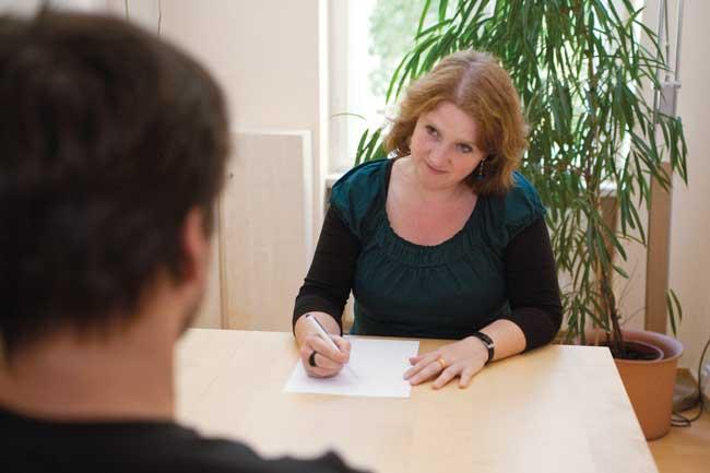 Gespräch mit Beraterin