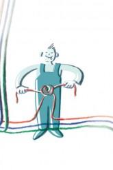 Kabelverknotung
