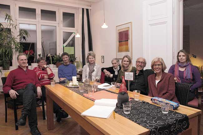"""Hausgemeinschaft Vorbergstraße beim """"Investoren-Casting"""""""