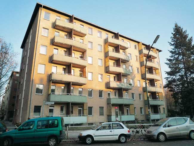 Vorher: Preiswerte Wohnungen am Barbarossaplatz