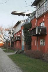 Siedlung am Schlierbacher Weg nach der Sanierung