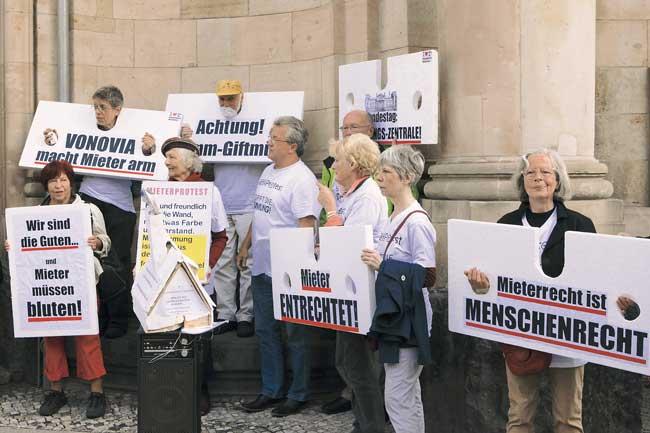Mieterprotest gegen Vonovia